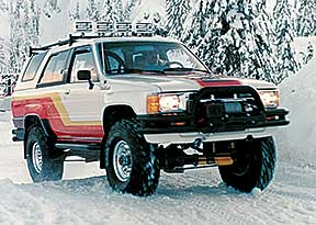 1985 Toyota 4x4 With Supercharged 22RE Engine