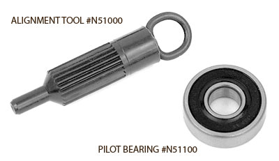 Clutch Alignment Tool and Pilot Bearing