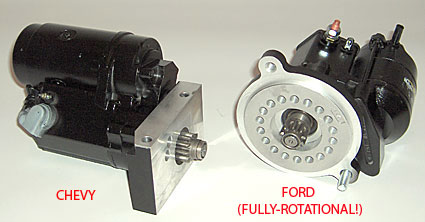 Hi Torque Chevy and Ford V-8 starters