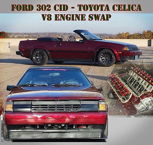 Toyota Celica V8 Engine Mounts