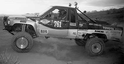 Bill Quitmeyer Running His Toyota 4x4 And Dr. Diff Differential