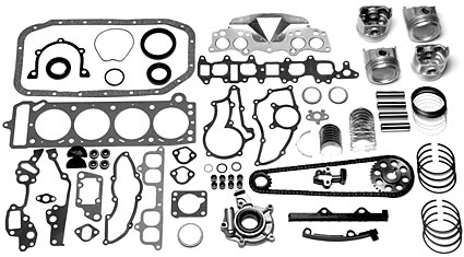 Master Engine Overhaul Kits